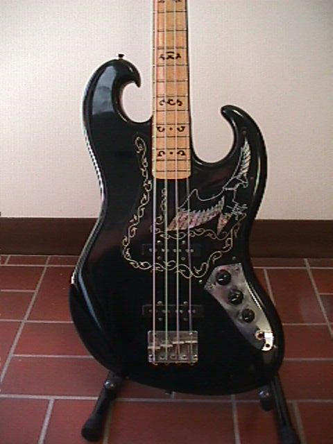 The Ibanez Black Eagle Bass